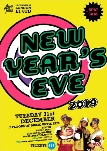 New Year's Eve Party 2019 in Shoreditch